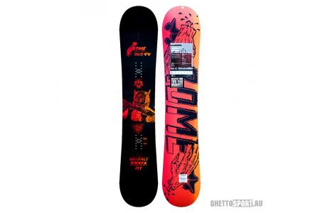Сноуборд Rome 2015 Artifact Rocker Black/Orange 147