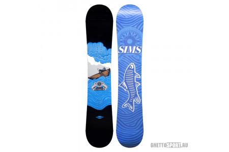 Сноуборд Sims 2011 Steve Fisher Black/Blue 158
