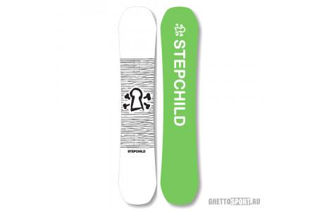Сноуборд Step Child 2018 Child Support Youth White/Black 138