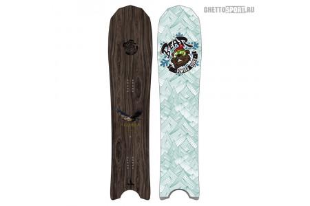 Сноуборд Bear Powder Surfs 2021 Кедровка (Nutcracker)