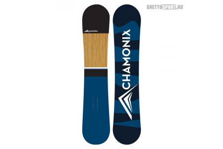 Сноуборд Chamonix 2018 Prorotype Blue/Black/Wood 163W