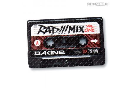 Наклейка на сноуборд Dakine 2018 Cassette Stopm Black