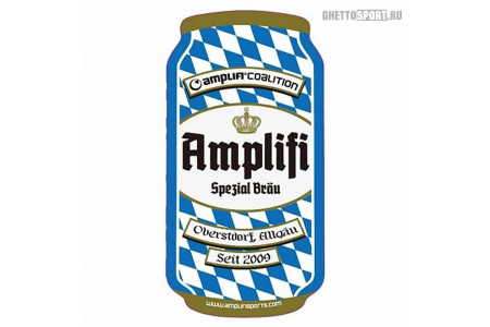 Наклейка на сноуборд Amplifi 2019 Can Stomp Triple Brew Blue