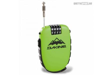Замок с тросиком Dakine 2018 Cool Lock Green