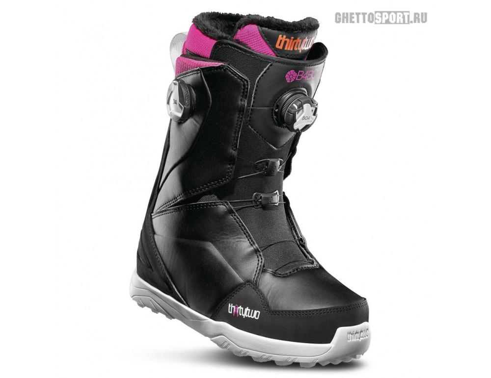 Ботинки Thirty Two 2020 Lashed Double Boa W'S B4BC Black/Pink/White