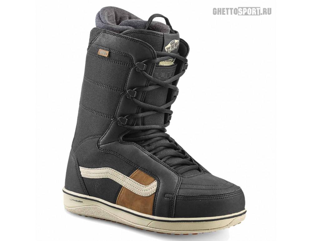 Ботинки Vans 2020 Hi Standard OG Black/Off Wh 10