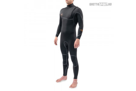 Гидрокостюм Dakine 2021 Cyclone Zip Free Full Suit 4x3 Black