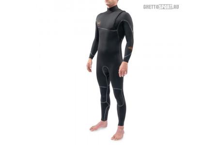 Гидрокостюм Dakine 2021 Cyclone Zip Free Full Suit 5x4 Black