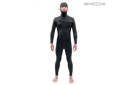 Гидрокостюм Dakine 2021 Mission Chest Zip Hooded 4x3 Black