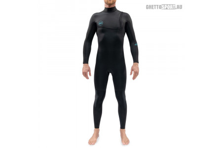 Гидрокостюм Dakine 2021 Mission Zip Free Full Suit 3x2 Black