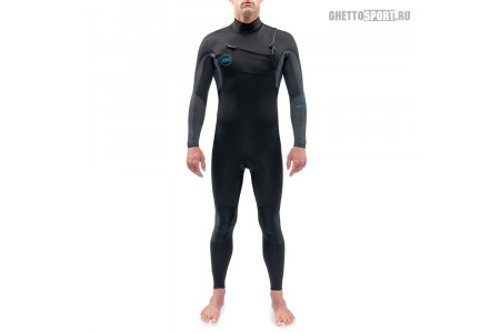 Гидрокостюм Dakine 2021 Quantum Chest Zip Full Suit 3x2 Black/Grey