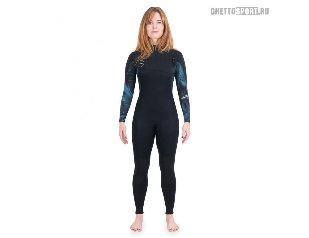 Гидрокостюм Dakine 2021 Women's Quantum Chest Zip Full Suit 3x2 Black/Grey