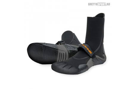 Гидрообувь Dakine 2021 Cyclone Round Toe Boot 7x5 Black