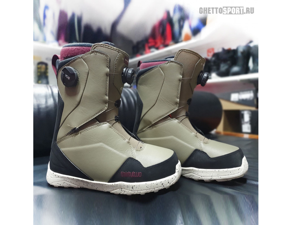 Ботинки Thirty Two 2020 Lashed Double Boa Bradshaw Olive/Black 9,5