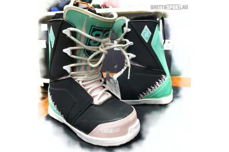 Ботинки Thirty Two 2019 Lashed Melancon W'S Black/Pink/Green