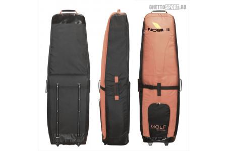 Чехол с колесами Nobile 2020 Golf Bag Black/Brown
