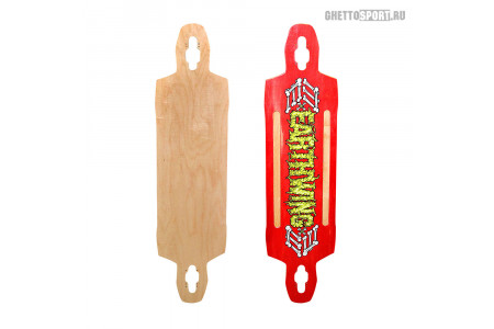 "Дека для лонгборда Earthwing 2013 Supermodel Red 40"""
