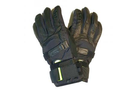 Перчатки с защитой Bern 2022 Men's Synthetic Gloves w/ Removable Wristguard Black