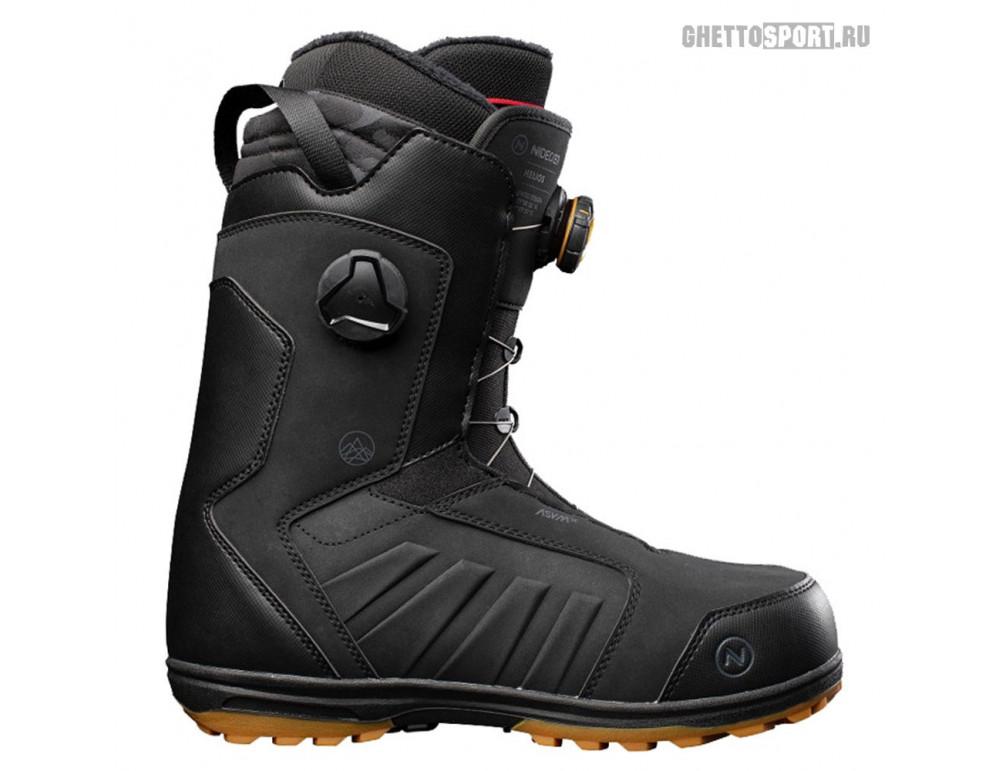 Ботинки Nidecker 2022 Helios Black