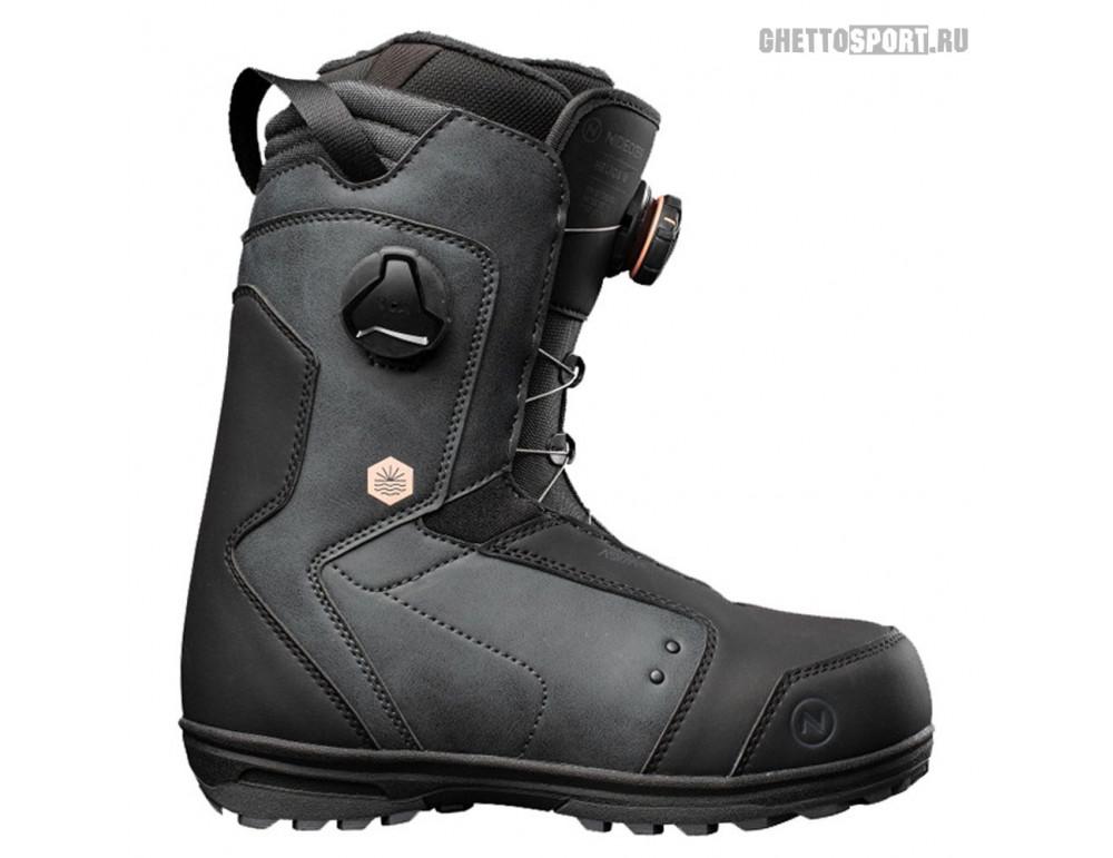 Ботинки Nidecker 2022 Helios W Black