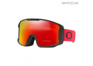 Маска Oakley 2022 Line Miner M Redline Prizm Snow Torch OO709356