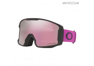 Маска Oakley 2022 Line Miner M Ultra Purple Prizm Snow Hi Pink OO709357