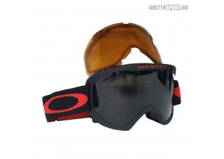 Маска Oakley 2022 O Frame 2.0 XL Black Red Dark Grey & Persimmon OO711220