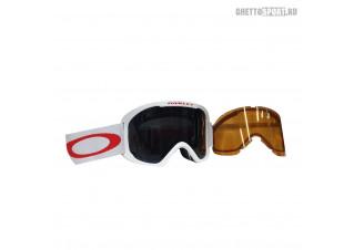 Маска Oakley 2022 O Frame 2.0 XL White Red Dark Grey & Persimmon OO711221
