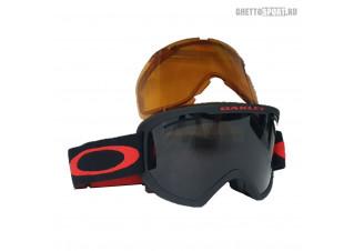 Маска Oakley 2022 O Frame 2.0 XM Matte Black Red Dark Grey & Persimmon OO711321